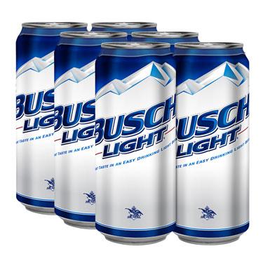 BUSCH LIGHT 6-PK