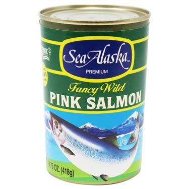 SEA ALASKA PINK SALMON
