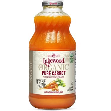 LAKEWOOD ORGANIC PURE CARROT JUICE