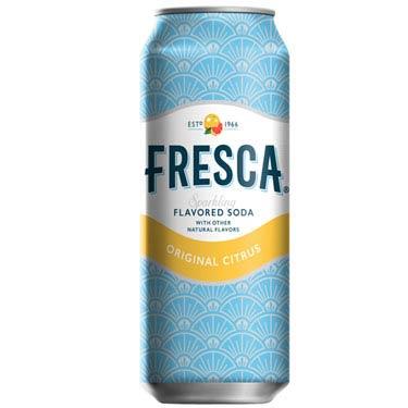 FRESCA ORIGINAL CITRUS SODA CAN