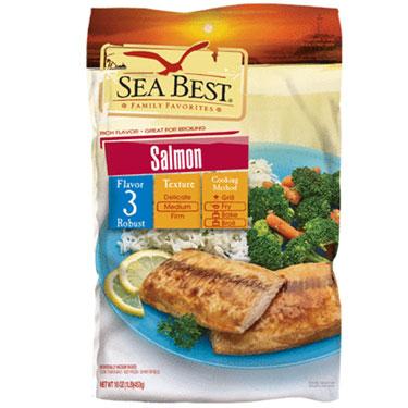SEA BEST SALMON FILLETS