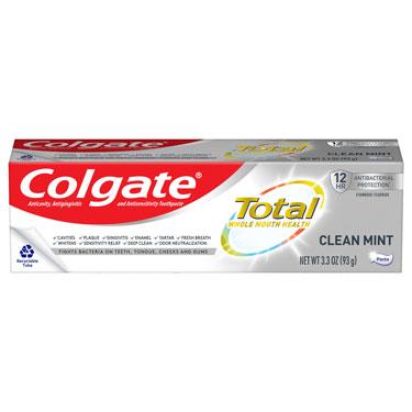 COLGATE TOTAL CLEAN MINT