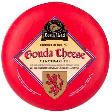 BOARS HEAD GOUDA CHEESE HOLLAND