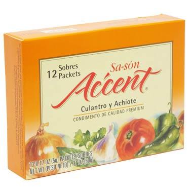 SA-SON ACCENT CULANTRO Y ACHIOTE