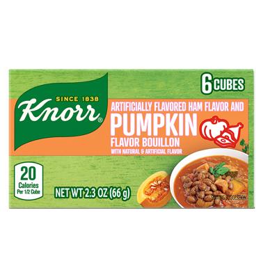 KNORR CUBITOS DE CALABAZA Y JAMON