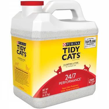 TIDY CATS CAT LITTER 24/7 PERFORMANCE