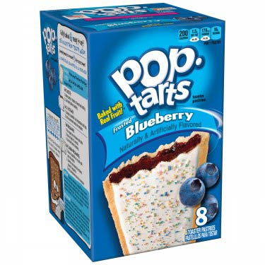 KELLOGGS POP TARTS BLUEBERRY