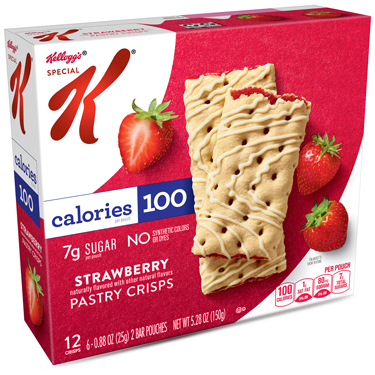 SPECIAL K STRAWBERRY PASTRY CRISPS