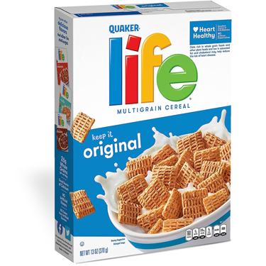 QUAKER LIFE CEREAL ORIGINAL
