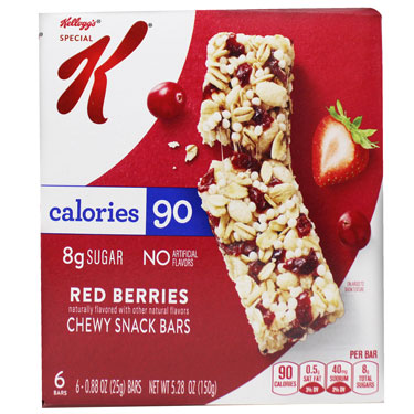 SPECIAL K RED BERRIES BAR 6CT