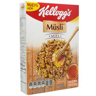 KELLOGGS MUSLI MIEL
