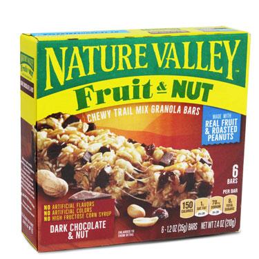 NATURE VALLEY DARK CHOCOLATE TRAIL MIX