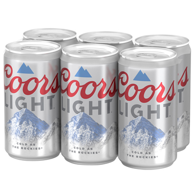 COORS LIGHT 6-PACK
