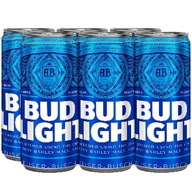 BUD LIGHT CAN 6PK