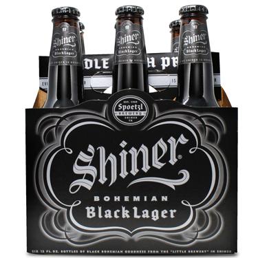 SHINER BLACK LAGER 6PK