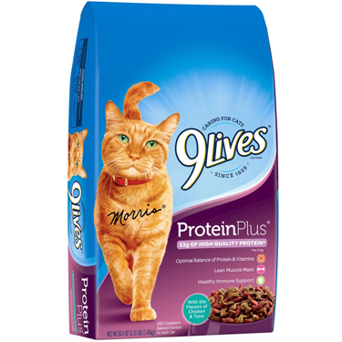 9 LIVES PROTEIN PLUS CAT FOOD