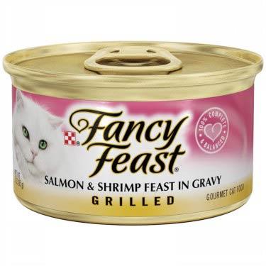 FANCY FEAST GRILLED SALMON & SHRIMP