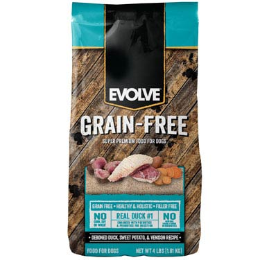 EVOLVE GRAIN FREE DUCK CHICKPEA