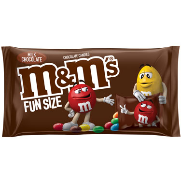 M&MS MILK CHOCOLATE FUN SIZE