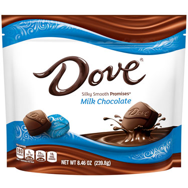 DLVE MILK CHOCOLATE PROMISES