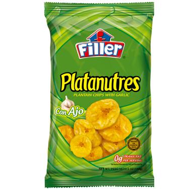 FILLER PLATANUTRES CON AJO