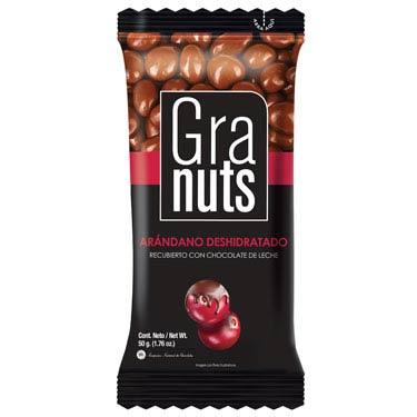GRANUTS ARANDANO CON CHOCOLATE