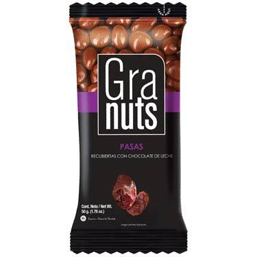 GRANUTS PASAS CON CHOCOLATE