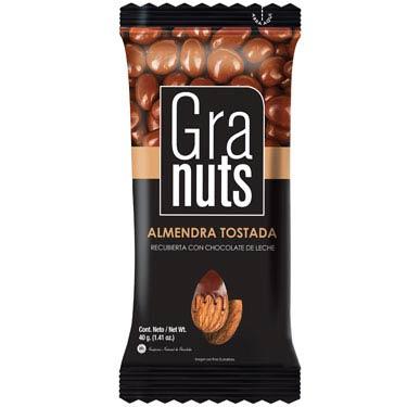 GRANUTS ALMENDRAS CON CHOCOLATE