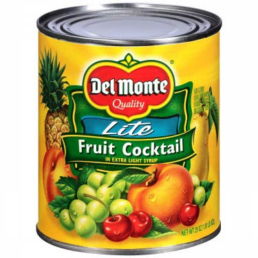 DEL MONTE FRUIT COCKTAIL LITE