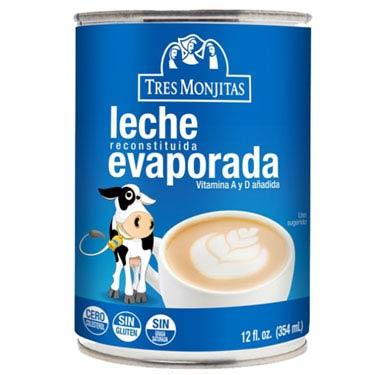 TRES MONJITAS LECHE EVAPORADA