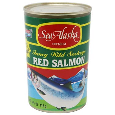 SEA ALASKA RED SALMON