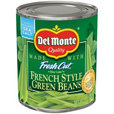 DEL MONTE FRENCH STYLE BEANS