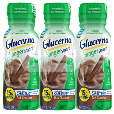 GLUCERNA HUNGER SMART CHOCOLATE