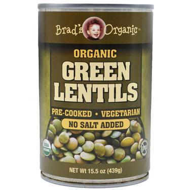 BRADS ORG LENTIL BEANS