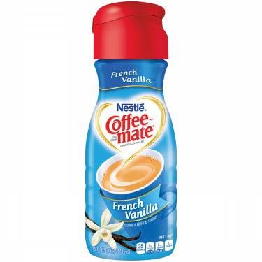 COFFEE MATE FRENCH VANILLA N/D CREAMER