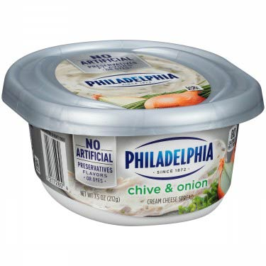 PHILADELPHIA CREAM CHEESE CHIVES