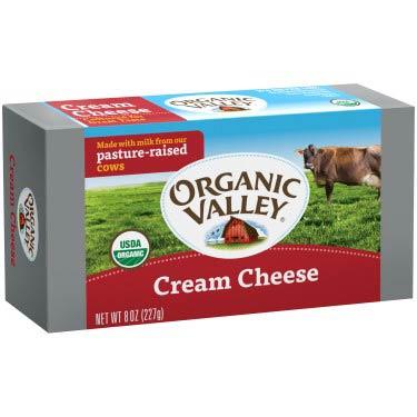 ORGANIC VALLEY CREAM CHEESE BARS