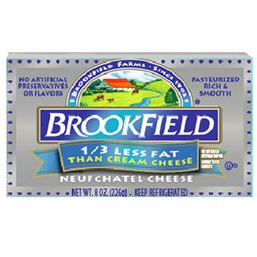 BROOKFIELD CREAM CHEESE LOW FAT