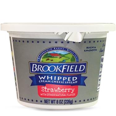 BROOKFIELD WHIPPED CREAM STRAWBERRY