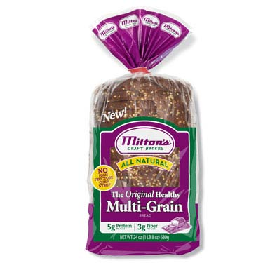 MILTONS CRAFT BAKERS MULTI-GRAIN BREAD