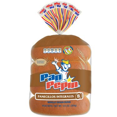 PAN PEPIN HOT DOG INTEGRAL 8PK