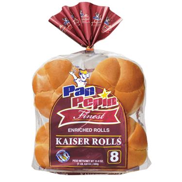 PAN PEPIN FINEST KAISER ROLLS 8PK