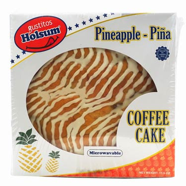 HOLSUM PINEAPPLE COFFE CAKE