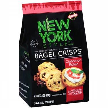 NEW YORK STYLE BAGEL CRISP CINN RAISIN