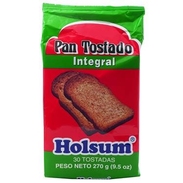HOLSUM PAN TOSTADO INTEGRAL