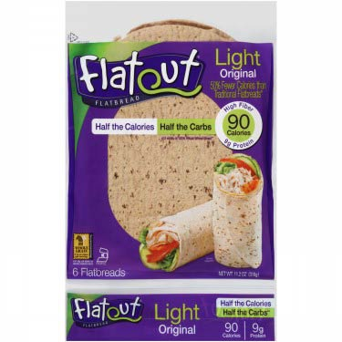 FLATOUT FLATBREAD WRAP LIGHT ORIGINAL