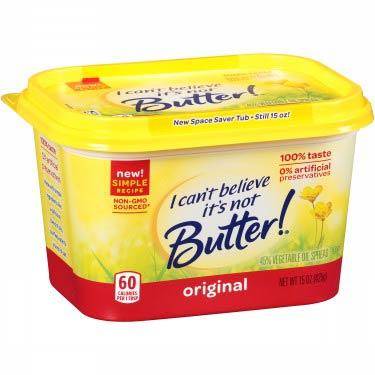 I.C.B. ITS NOT BUTTER SPREAD