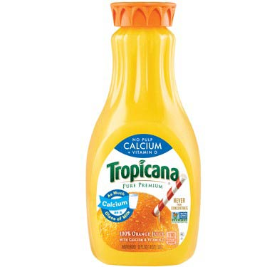 TROPICANA CALCIUM VIT D NO PULP