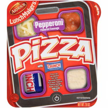 ARMOUR PEPPER/PIZZA LUNCHMAKER