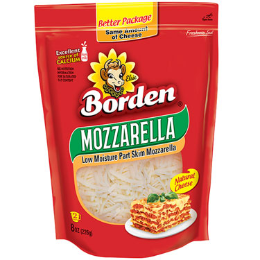 BORDEN SHREDDED MOZZARELLA